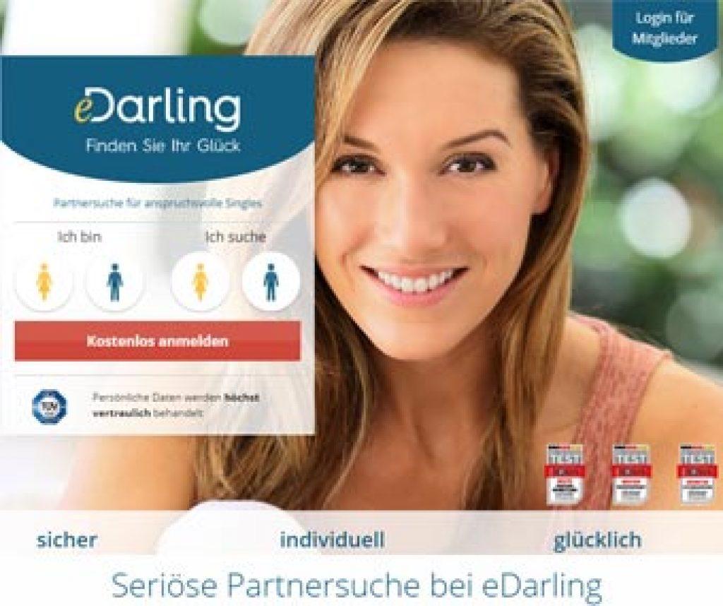 Partnersuche bei edarling - seriose partnervermittlung