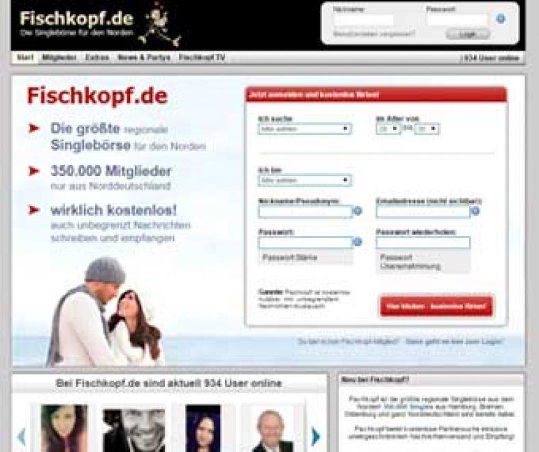 Fischkopf Webseite
