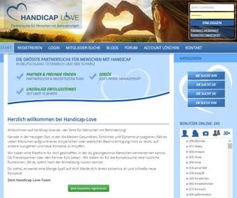 Handicap Love Startseite