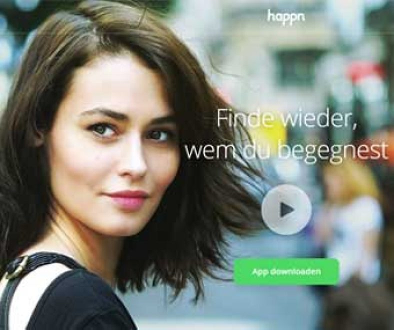 Happn Webseite