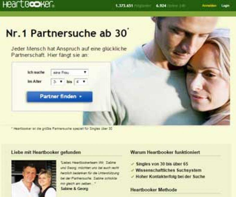 Heartbooker Webseite