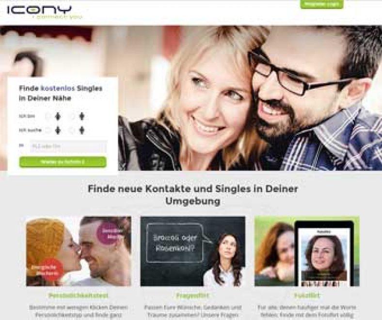 Icony Webseite