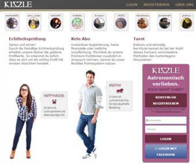 Kizzle Webseite