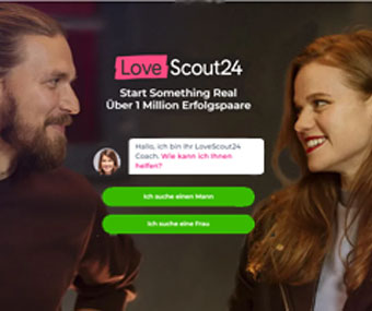 Lovescout24 Webseite