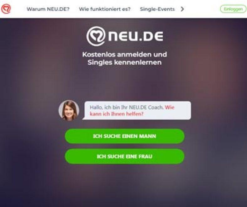 Neu.de Webseite