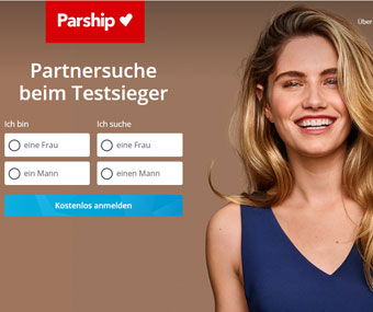Parship Webseite