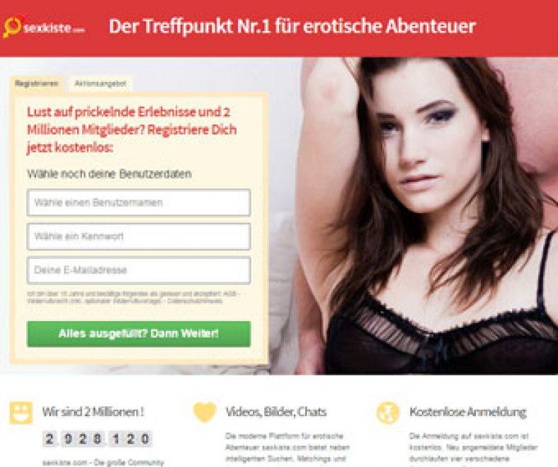 Sexkiste Webseite