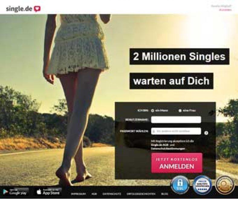 Single.de Webseite