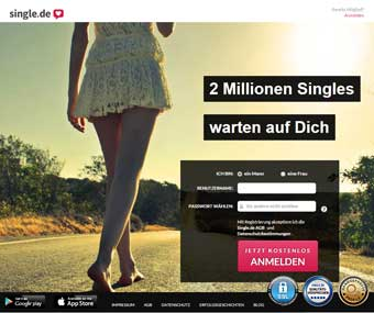 Single.de Startseite