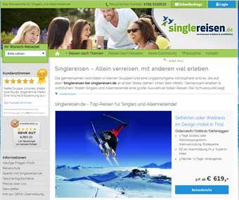 Singlereisen.de Startseite