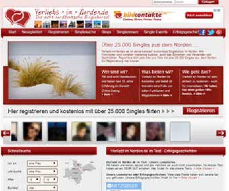 Verliebt im Norden Webseite