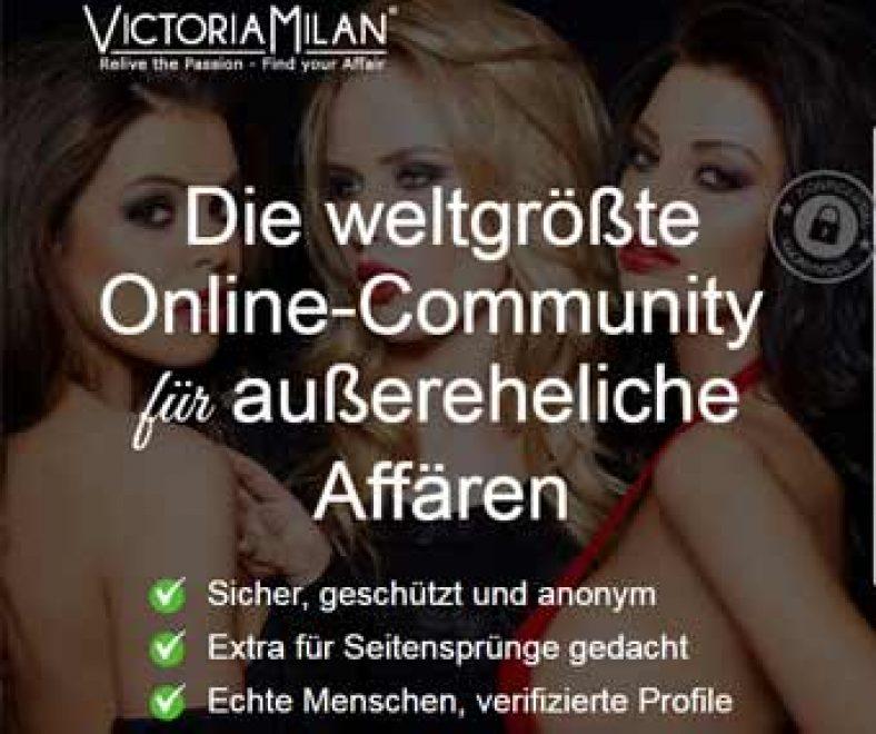 Victoria Milan Webseite